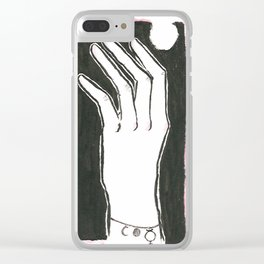 The Hand of Fate Clear iPhone Case