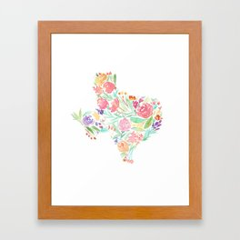 Bloomin' Texas Framed Art Print