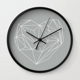 Heart Graphic 6 Wall Clock