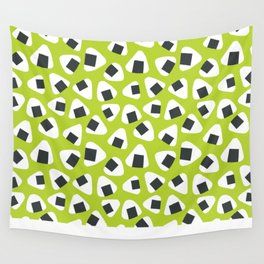 Onigiri (rice balls) pattern Wall Tapestry