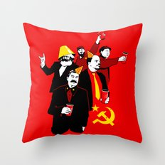 The Communist Party (variant) Throw Pillow
