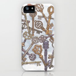 Unlocking Secrets iPhone Case