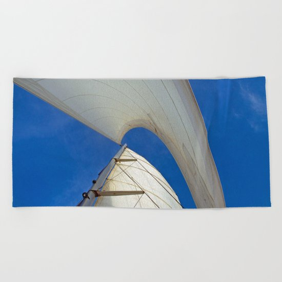 PLAIN SAILING Beach Towel