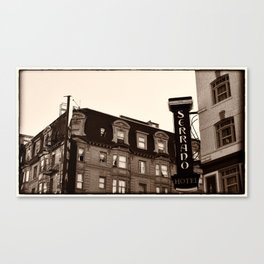 Serrano Hotel-San Francisco, California Canvas Print