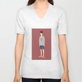 Tegan and Sara: Sara #1 Unisex V-Neck