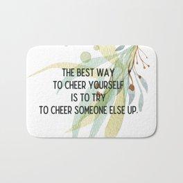 Cheer up - Mark Twain Collection Bath Mat
