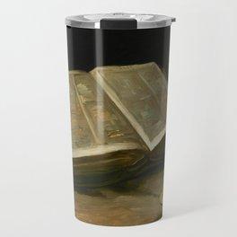 Vincent van Gogh - Still life with Bible, 1885 Travel Mug