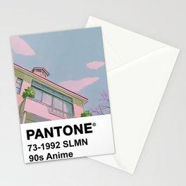 PANTONE 90s Anime Stationery Cards
