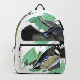 Summer Or Wood Duck - John James Audubon Backpack