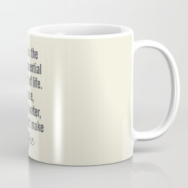 Water is essential, for coffee, wall art, humor, fun, funny, inspiration, motivation Coffee Mug