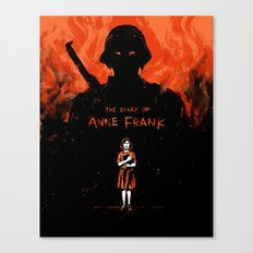 Diary of Anne Frank Canvas Print