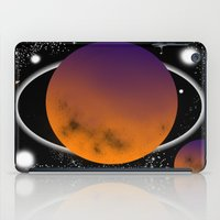 planets iPad Cases featuring planets by lescapricesdefilles