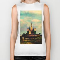 once upon a  time Biker Tanks featuring Once Upon a Time by Forgotten Beauty