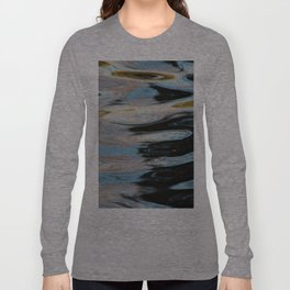 Abstract Water Surface Long Sleeve T-shirt