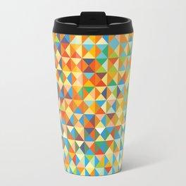 Triangles & Colors Travel Mug