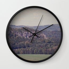 Landscape Photography by Thomas Richter Wall Clock