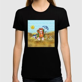 Cat at the Beach T-shirt