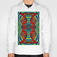 dna Hoodies featuring DNA #2 by Art By Carob