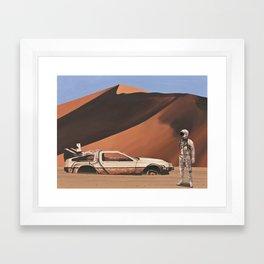 Forgotten Time Machine Framed Art Print