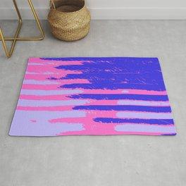 Sink Splatter (Blue Pink) Rug