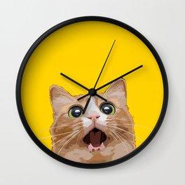 Funny Cat Meme Wall Clock