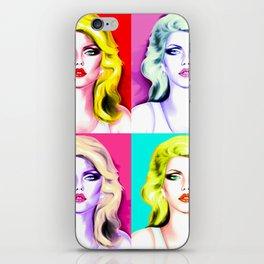 Deborah Harry iPhone Skin