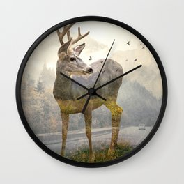 Deer remembers Wall Clock