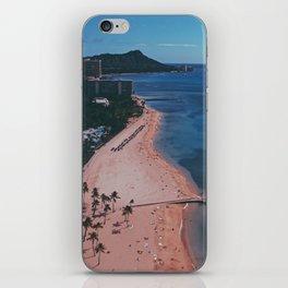In The Sky Over Hawaii iPhone Skin