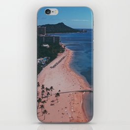 In The Sky Over Hawaii iPhone Skin