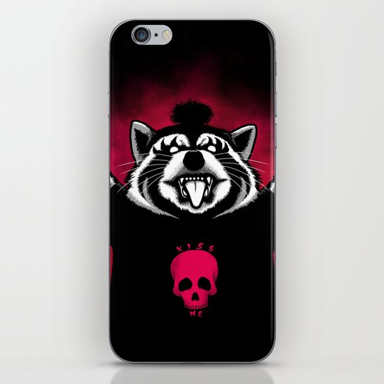 Raccoon! iPhone & iPod Skin