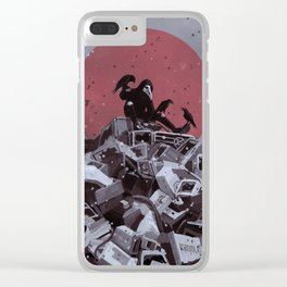 Scavenger Clear iPhone Case