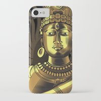 shiva iPhone & iPod Cases featuring Shiva by Aurapim Vorasopan