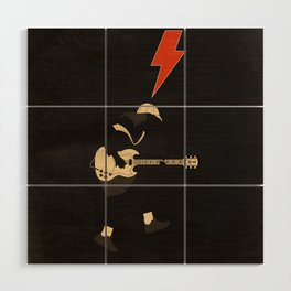 ACDC - For Those About to Rock! Wood Wall Art