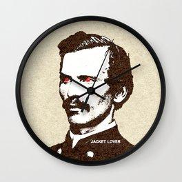 - jacket lover - Wall Clock