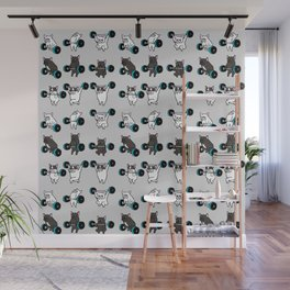 OLYMPIC LIFTING FRENCHIE Wall Mural