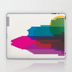 Shapes of Montreal. Accurate to scale. Laptop & iPad Skin
