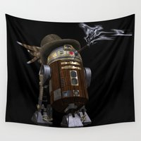 sci fi Wall Tapestries featuring Steampunk Sci-Fi  by gypsykissphotography
