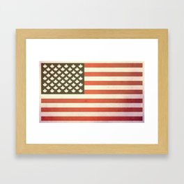 United States of Canada (Faded) Framed Art Print