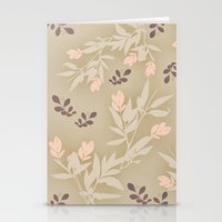 vintage flowers Stationery Cards featuring vintage flowers by Julia Tomova
