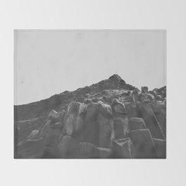 Reynisdrangar Rocks Throw Blanket