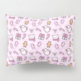 Cute Christmas // Pink Pillow Sham