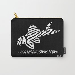 Zebra Pleco L-046  Carry-All Pouch