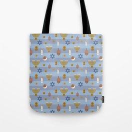 Kawaii Hanukkah Tote Bag