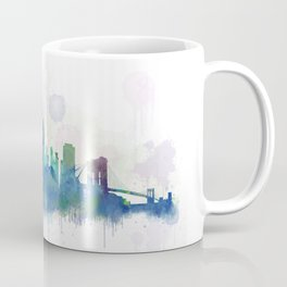 NY New York City Skyline Coffee Mug