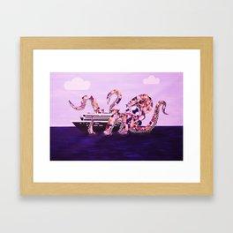 Media Monster Framed Art Print