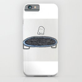 Trampoline Ghost iPhone Case