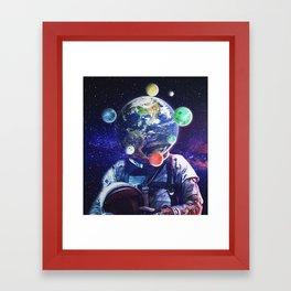 Orbital Complexion Framed Art Print