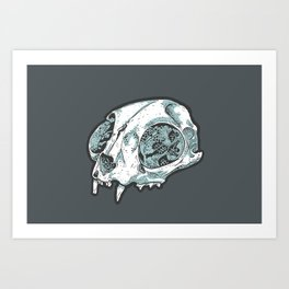 Here, Kitty Kitty Art Print