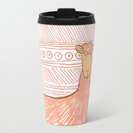 Llamas are Friends in Peru Travel Mug