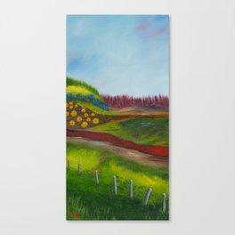 Traveling Through Canvas Print